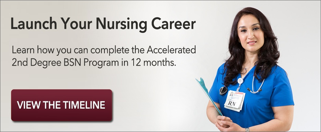 View the Accelerated 2nd Degree BSN Timeline