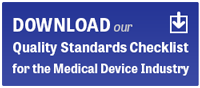 Quality Standards Checklist Download