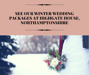 Winter Weddings at Highgate House, Northamptonshire