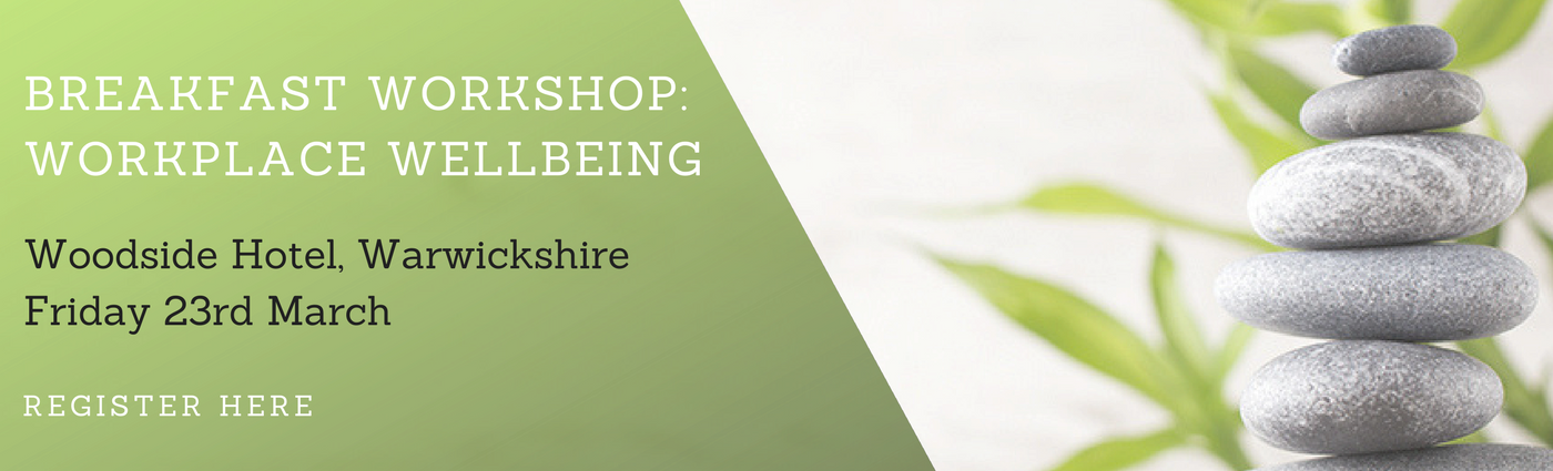 Register for the Workplace Wellbeing Breakfast Workshop here