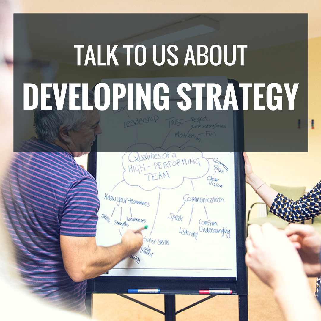 Talk To Us About Developing Strategy