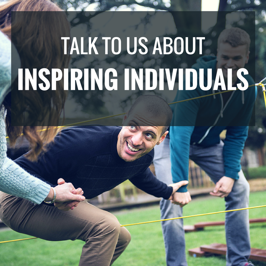 Talk To Us About Inspiring Individuals