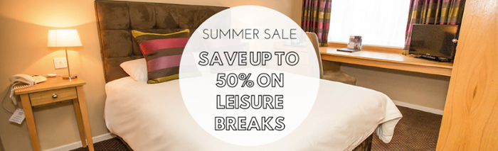Summer Sale: SAVE UP TO  50% ON LEISURE BREAKS