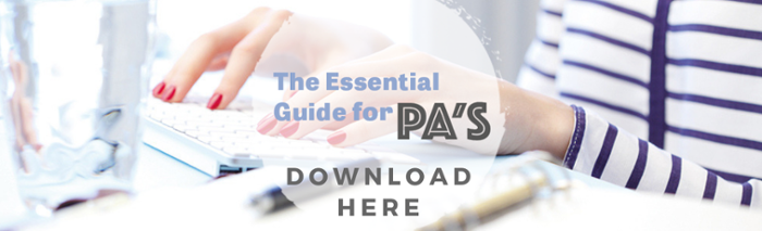 FREE EBOOK: THE ESSENTIAL GUIDE FOR PA'S