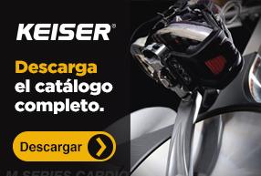 Descarga el catálogo de Keiser