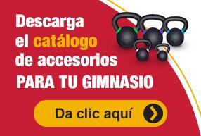 Descarga el catálogo de accesorios para tu gimnasio