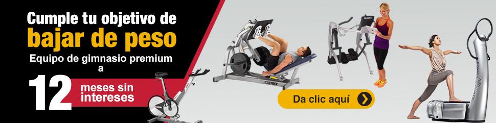 Equipo de gimnasio premium a 12 meses sin intereses - Sport Solutions