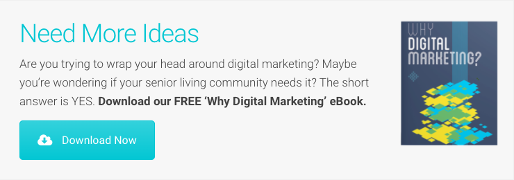 "Senior Living SMART ""Why Digital Marketing?"" eBook"