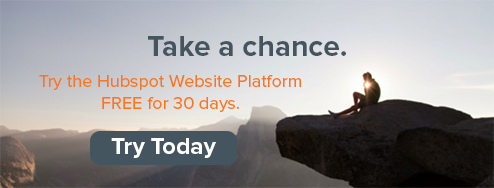 Try the HubSpot Website Platform FREE for 30-days