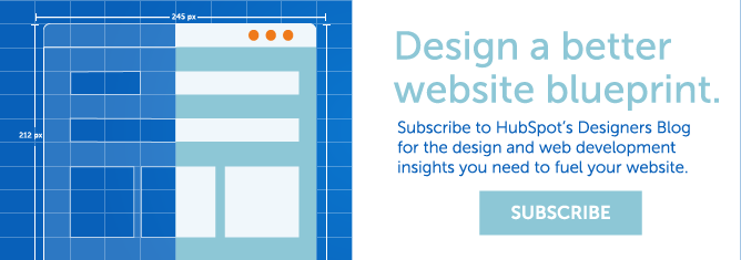 Subscribe to HubSpot's Designer Blog