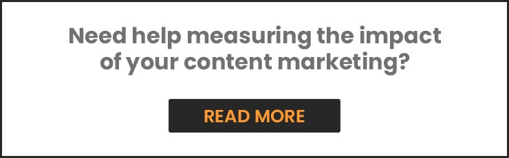 Measure the impact of your content marketing