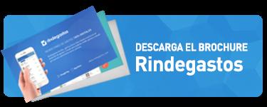 Descarga el Brochure Rindegastos