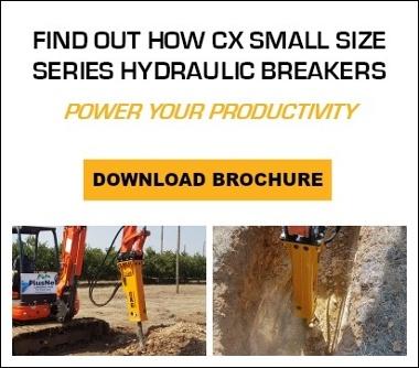 Breaker Technology BX Mid Size Hydraulic Breaker Brochure