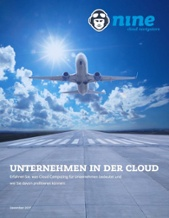 Unternehmen in der Cloud by nine