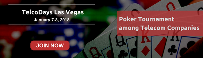Poker Tournament at TelcoDays Las Vegas 2018