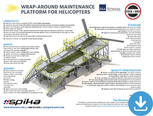 Download Brochure: Wrap-Around Maintenance Platform for Helicopters