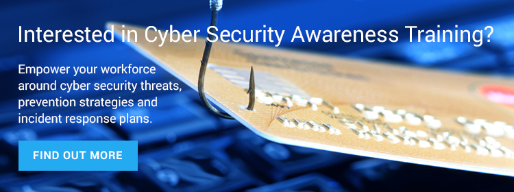 cyber security training offer