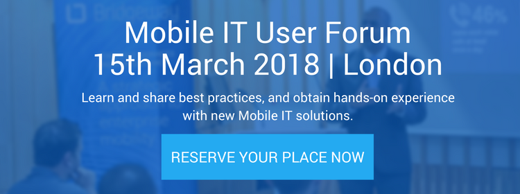 Mobile IT User Forum