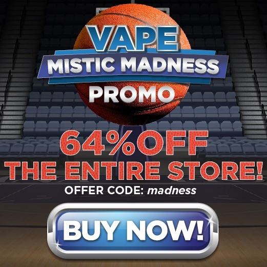 Get 64% off your next order during Mistic Madness