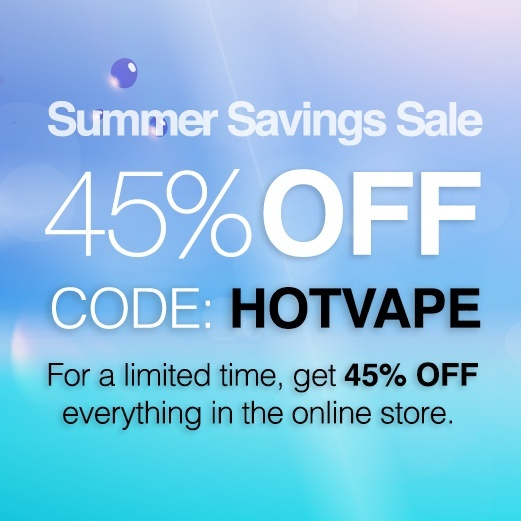 Click to save 45% off your next vaping order