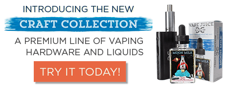 Introducing the New Craft Collection from HAUS. A Premium line of vaping hardware and liquids. Try it Today!