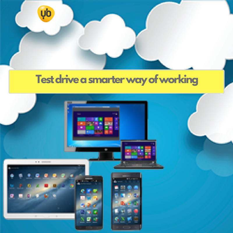 Yellowbus Hyperdesk - test drive a smarter way of working