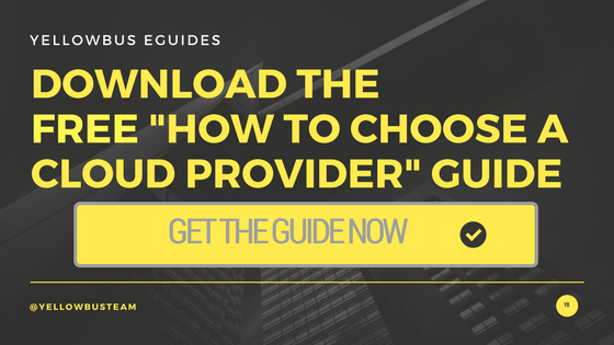 How to choose a cloud provider guide
