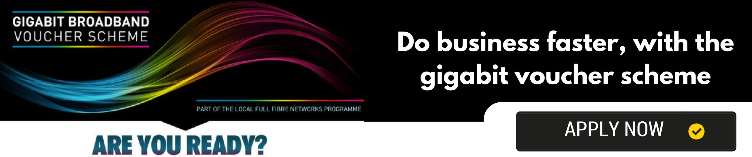 Find out if you can benefit from the gigabit voucher scheme