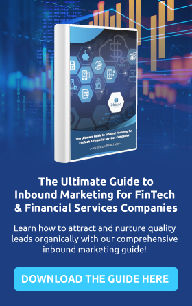 Ultimate guide to inbound marketing for FinTech and FSI companies blog sidebar