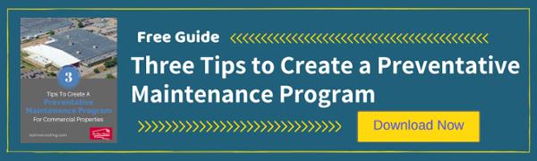 Preventative Maintenance Program for Commercial Roofs
