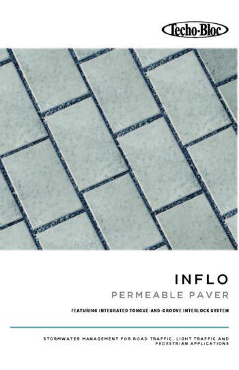 Inflo Permeable Paver