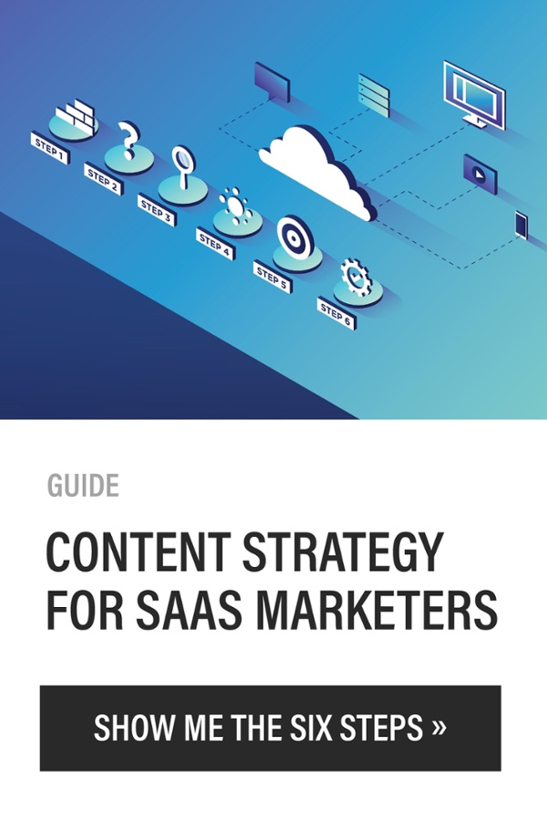 Click here to receive a free copy of the guide Content Strategy for SaaS Marketers