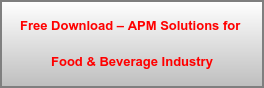 Free Download – APM Solutions for  Food & Beverage Industry