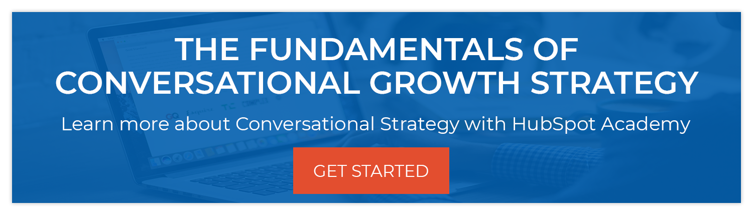 conversational growth strategy