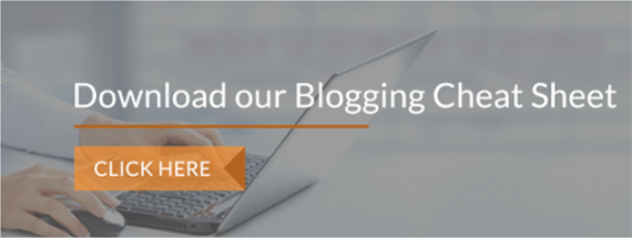 Download our blogging cheat sheet