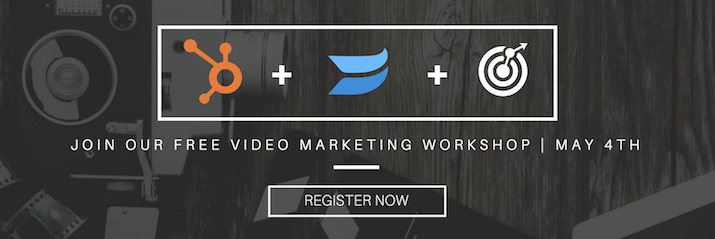 Come to our Video Marketing Workshop