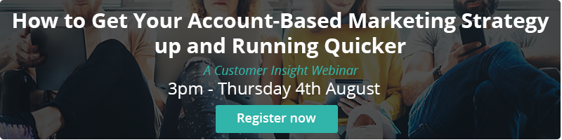 Webinar: How to Get Your Account-Based Marketing Strategy up and Running Quicker