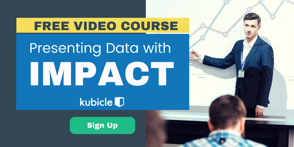 Presenting data with impact