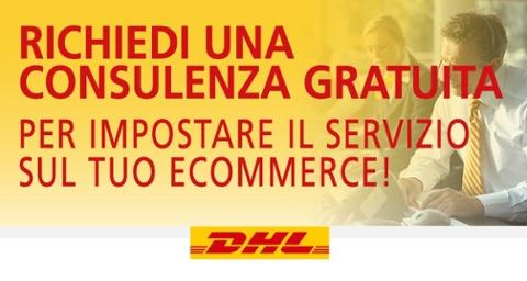 Richiedi una consulenza gratuita per impostare il servizio DHL sul tuo ecommerce