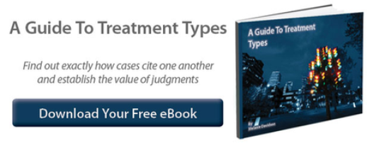 Guide to case law treatment types
