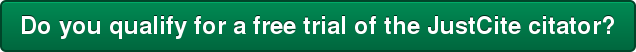 Do you qualify for a free trial of the JustCite citator?
