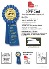 MVP Card Template
