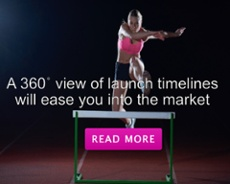 A 360 view of launch timelines will ease you into the market