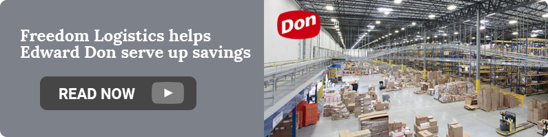 Freedom Logistics helps Edward Don serve up savings