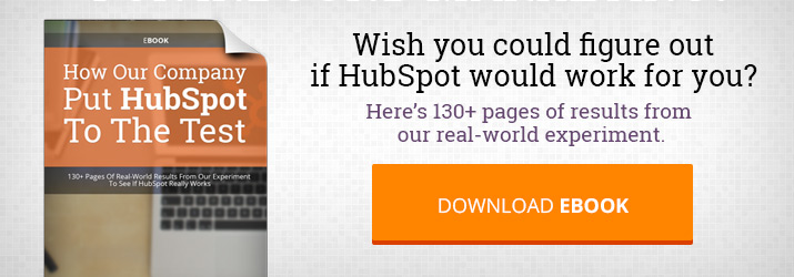 Download: How Our Company Put HubSpot To The Test