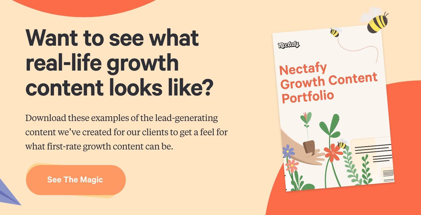 Download Now: Nectafy Growth Content Portfolio