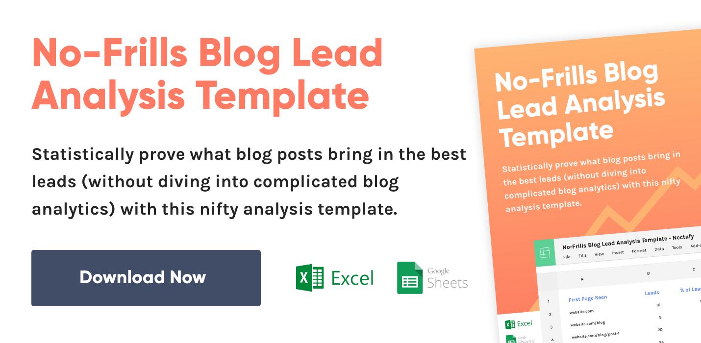 Blog-Lead-Analysis-Template