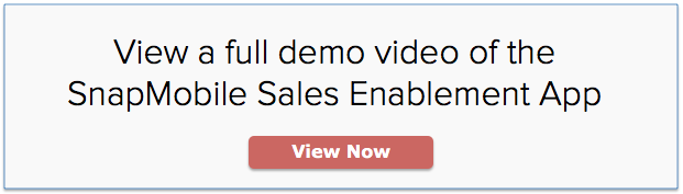 SnapMobile Sales Enablement App Video