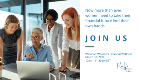 Attend out webinar to learn how you can financially empower the women in your workforce!