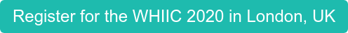 Register for the WHIIC 2020 in London, UK